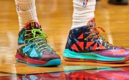 NBA球員球鞋狀況一覽 耐克霸主地位無人能動搖