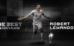 萊萬當選2020世界足球先生 力壓梅羅首次獲殊榮