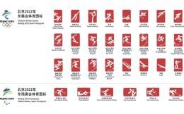 北京2022年冬奧會和冬殘奧會體育圖標正式發布