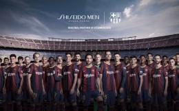 日本品牌資生堂與巴塞羅那簽約兩年 為巴薩第五個日本贊助商
